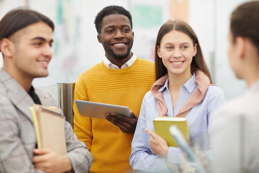 Schüler Höhere Handelsschule
